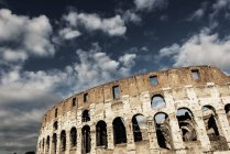 Italy, Rome, Colosseum against clouds in sky — Stock Photo
