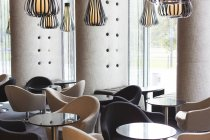 View to interieur in hotel lounge — Stock Photo