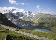 Швейцарія, Uri Альп, перевал Susten та озеро Steinsee — стокове фото