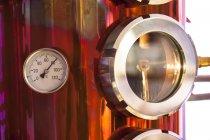 Brennerei für Obst-Brände, Nahaufnahme — Stockfoto