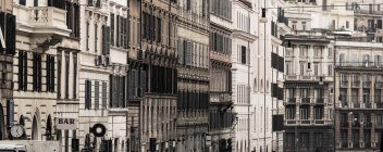 Italy, Rome, view of old town buildings  during daytime — Stock Photo