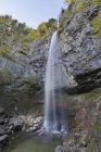 Allemagne, Chiemgau, Schossrinn cascades et paysage pittoresque — Photo de stock