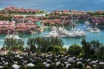 Seychelles, Mahe, Victoria, isola di Eden — Foto stock