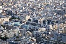 Vista del paisaje urbano de París durante el día, Francia - foto de stock