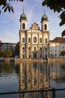 Вид Санкт Франц Ксавер церковь — стоковое фото