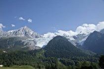 France, vue du Mont Blanc au cours de la journée — Photo de stock