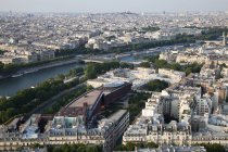 View of Paris cityscape at daytime, France — Stock Photo