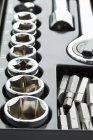 Steckschlüssel set, Nahaufnahme — Stockfoto