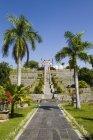 Indonesien, Bali, Blick auf Royal Palace Ujung Wasserpalast — Stockfoto