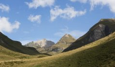 View of Pfunderer Berge at daytime, Italy — Stock Photo