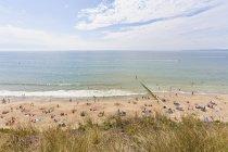 England, View of Bournemouth Beach — Stock Photo