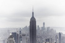 Stati Uniti d'America, New York, Empire State Building e skyline — Foto stock