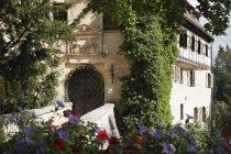 Alemanha, Bavaria, Franconia, da Francônia Suíça, Ver os de Rabenstein castelo — Fotografia de Stock