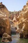 Portugal, Algarve, Lagos, Ponta da Piedade rock formations — Stock Photo