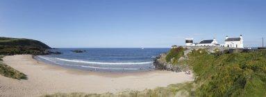 Ирландии, графство Донегол, полуострова Инишоуэн и песчаный пляж — стоковое фото