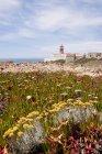 Portugal, Algarve, Lagos, lighthouse at Cabo de Sao Vicente — Photo de stock