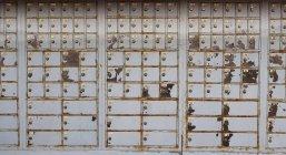 Italie, Province de Venise, Ancien casier au bureau de poste — Photo de stock