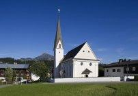 Austria, Tyrol, exterior of rural church — Stock Photo