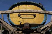 Germany, Close up of manure cart — Stock Photo