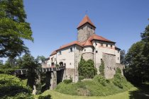 Германия, Бавария, Вид на Вернбергский замок днем — стоковое фото