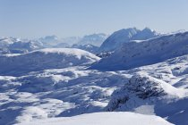 Snowy Dachstein Mountains — стоковое фото