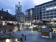 Germany, Hesse, Frankfurt, Square at Hauptwache — Stock Photo