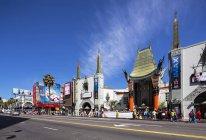 США, Каліфорнія, Лос-Анджелес, Голівуд, голлівудському бульварі, Tcl китайського театру на вулиці — стокове фото