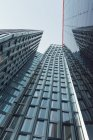 Germany, Hamburg, St. Pauli, Dancing Towers, partial view — Stock Photo