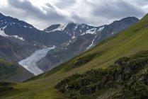 Тіроль, Австрія регіоні Каунерталь, льодовик Gepatschferner денний час — стокове фото