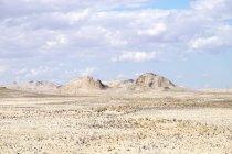 Afrika, Namibia, Namib-Wüste, anzeigen um tagsüber Landschaft — Stockfoto