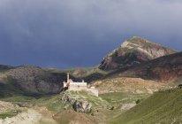 Turquie, Anatolie orientale, l'Anatolie, Agri province, Dogubeyazit, Ishak Pasha Palace — Photo de stock