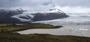 Breidarlon Исландии, Южной части Исландии, в дневное время — стоковое фото