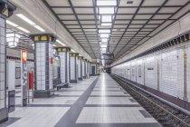 Berlin, la station de métro Paracelsiusbad — Photo de stock