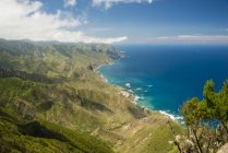 Spain, Canary islands, Tenerife, Cabezo del Tejo, View from Anaga mountains — Stock Photo