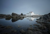 Iceand, Dwellings in western Iceland — Stock Photo