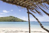 Океанія, острови Фіджі, вид з острова Yaromo або медовий місяць острова до острова Nacula — стокове фото