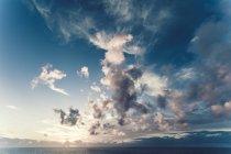 Portogallo, cielo nuvoloso sopra il mare — Foto stock