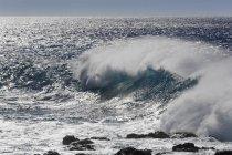 Wellenbruch auf La Gomera — Stockfoto