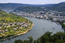 Germany, Rhineland-Palatinate, View of Boppard at river Rhein — Stock Photo