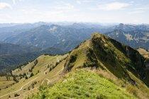 Bayerischen und österreichischen Alpen — Stockfoto
