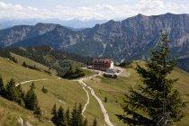 Germania, Baviera, Rotwandhaus costruzione nelle montagne — Foto stock
