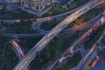 Європи, Туреччина, Стамбул, перегляд вулиць у фінансовому районі — стокове фото