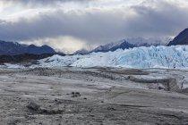 США, Аляска, вид Горы Чугач, Матануска долина и ледник Матануска — стоковое фото