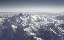 Vista aérea do Himalaia no dia — Fotografia de Stock