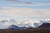 USA, Alaska, View of landscape of Alaska Range — Stock Photo