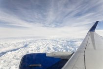 USA, Alaska, Volo su Alaska Range — Foto stock