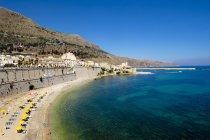Italia, Sicilia, Trapani, Castellammare del Golfo — Foto stock
