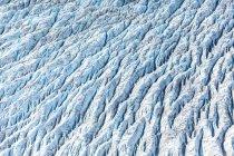 USA, Alaska, Veduta aerea del ghiacciaio di Ruth — Foto stock