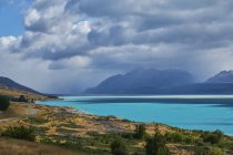 Nueva Zelanda, Isla Sur, Lago Pukaiki - foto de stock