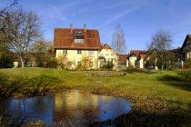 Germania, Baviera, Alta Baviera, Glonn, Hotel Gut Sonnenhausen — Foto stock
